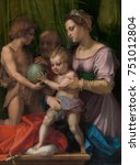 Holy Family With St. John The...