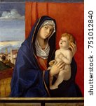 madonna and child  by giovanni... | Shutterstock . vector #751012840