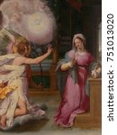 The Annunciation  By Peter...