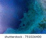 aerial view of the karst lake... | Shutterstock . vector #751026400