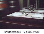 table set | Shutterstock . vector #751034938