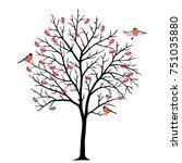 Rowan Tree Branch And...