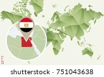 infographic for egypt  detailed ... | Shutterstock .eps vector #751043638