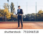 concept business and sport.... | Shutterstock . vector #751046518