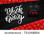 vector realistic isolated promo ... | Shutterstock .eps vector #751048804