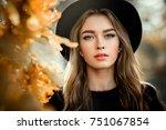 close up portrait of a...   Shutterstock . vector #751067854