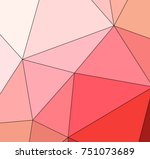 abstract colored texture of... | Shutterstock . vector #751073689