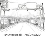 dallas. texas. usa. hand drawn....   Shutterstock .eps vector #751076320