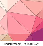 multicolor texture made using... | Shutterstock . vector #751081069