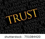 trust word cloud  business