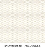 abstract geometric seamless... | Shutterstock .eps vector #751090666