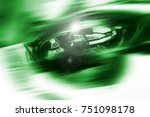 abstract futuristic background...   Shutterstock . vector #751098178