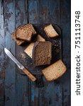 variety loaves of sliced...   Shutterstock . vector #751113748