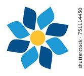flower vector icon | Shutterstock .eps vector #751114450