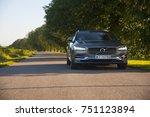 volvo v90 d5 inscription  ... | Shutterstock . vector #751123894