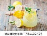 Lemonade Pitcher With Lemon ...