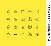 new icons set. collection of... | Shutterstock .eps vector #751134160