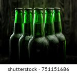 Green Bottles With Beer On...