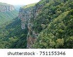 Close View Of Cliff In Oribi...
