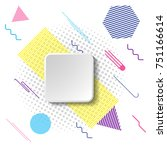 creative design. abstract... | Shutterstock .eps vector #751166614