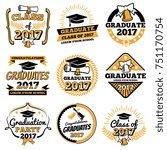 Vintage Student Graduate Badge...