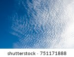 blue sky with cloud for... | Shutterstock . vector #751171888