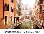 venice  italy   january 2015 ... | Shutterstock . vector #751173700
