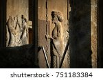 persepolis is the capital of... | Shutterstock . vector #751183384