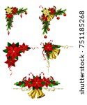 christmas elements for your... | Shutterstock .eps vector #751185268