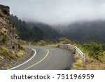 rural  deserted road in the... | Shutterstock . vector #751196959
