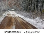 Impassable Dirty Dirt Road In...