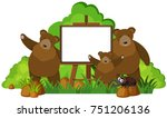 Whiteboard With Three Grizzly...