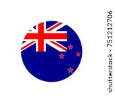 new zealand flag  official... | Shutterstock .eps vector #751212706