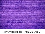 A Large Lilac Wall Made Of...