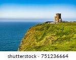 ireland  o'brien's tower  marks ... | Shutterstock . vector #751236664
