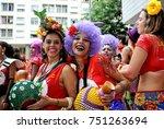 rio de janeiro  brazil  ... | Shutterstock . vector #751263694