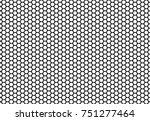 hexagon honeycomb seamless... | Shutterstock .eps vector #751277464