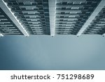 abstract image of glass and... | Shutterstock . vector #751298689
