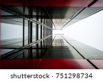 Abstract Image Of Glass And...
