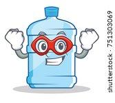 super hero gallon character... | Shutterstock .eps vector #751303069