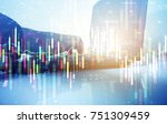 stock trading business | Shutterstock . vector #751309459