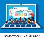 online training | Shutterstock .eps vector #751311820