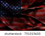 usa flag background | Shutterstock . vector #751315633