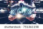 internet of things   iot... | Shutterstock . vector #751361158