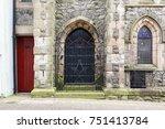 caernarfon  uk  march 18th ... | Shutterstock . vector #751413784