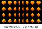 cartoon collection of 3d orange ...