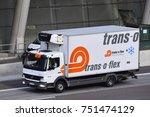 frankfurt germany nov 06  trans ...   Shutterstock . vector #751474129