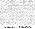 seamless gray mosaic geometric... | Shutterstock .eps vector #751489804