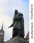 monument to albrecht durer in... | Shutterstock . vector #751494373