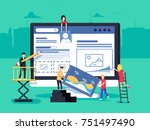small people character... | Shutterstock .eps vector #751497490